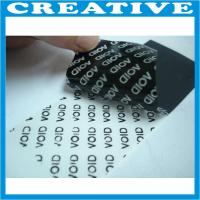 Buy cheap void sticker label product