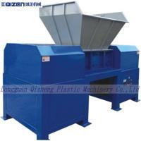 Double Shaft Shredder Hard Plastic Crusher Machine 350 * 20 Mm Cutter Head