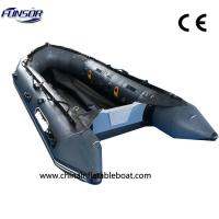 Buy cheap Red or Black Folding PVC Inflatable Boat Suitable for 6 Persons from wholesalers