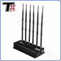 Buy cheap Libraries / Museum Rf Frequency Jammer , 6 Antenna Cell Phone Signal Blocker from wholesalers