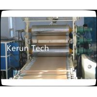 Buy cheap 280 kw PE PP Plastic Plate Extrusion Line With Auto feeder / Three roller calender from wholesalers