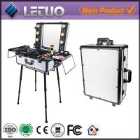Buy cheap LT-MCL0027 rolling makeup case with lights professional makeup trolley case from wholesalers