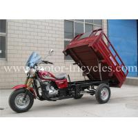Buy cheap Custom Cargo Trike Eec Tricycle 3 Wheel Electrical / Kick Starting System from wholesalers