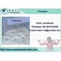 Buy cheap White Crystalline Pain Killer Powder Procaine, As A Local Anesthetic Drugs from wholesalers
