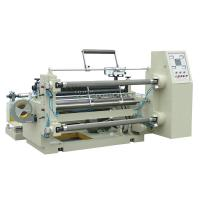 Buy cheap PLC air shaft high speed slitting and rewinding machine for non woven fabirc from wholesalers