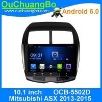 Buy cheap Ouchuangbo car audio multimedia android 6.0 fir Mitsubishi ASX 2013-2015 with MP3 mirror link USB 1024*600 4*45 Watts from wholesalers