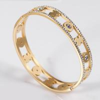 Buy cheap Stainless Steel Custom Charm Bracelets , Gold Plated Bangle Bracelets For Women Jewelry product