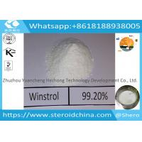 Buy cheap Winstrol Raw Steroid Powder Injectable Steroids Stanozol Shipping to United Kingdom from wholesalers