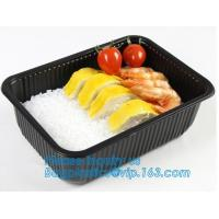 Buy cheap takeaway food container disposable plastic lunch bento box,square PLA plastic food container,fast food package essential from wholesalers