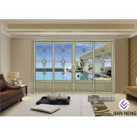 Buy cheap Customized Contemporary Design Aluminum Sliding Doors Sound Insulation from wholesalers