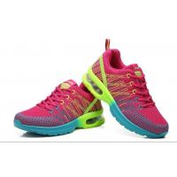 Buy cheap Flyknit Fly woven athletic air cushion outsole height increased breathable antiskid damping outdoor sports shoes from wholesalers