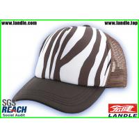 Buy cheap Hip Pop Stripe Customized Baseball Caps With Polyester Fabric from wholesalers