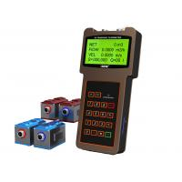 Buy cheap Large LCD Display Handheld Flow Meter Bidirectional With Clamp On Transducer from wholesalers