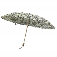 Buy cheap Golden Aluminum Frame 3 Section Manual Open Ladies 16 Ribs Umbrella from wholesalers