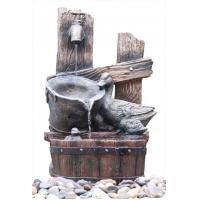 Buy cheap Animals 3 Tier Water Fountain , Outdoor Patio Fountains For Garden / Courtyard from wholesalers