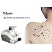 Buy cheap 5 - 7 Ns Nd Yag Laser Tattoo Removal Machine For Carbon Peeling Wrinkle Removal from wholesalers