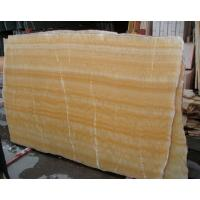 Buy cheap Cheap Yellow Onyx Slab Tile from wholesalers