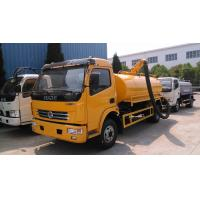 Buy cheap 120hp DONGFENG 4*2 Vacuum Suction Truck 5 ton from wholesalers