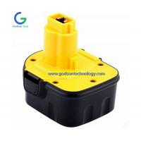 Buy cheap Dewalt 12V Ni-Cd Ni-MH Battery Replacement Power Tool Battery Cordless Tool Battery Black & Yellow Color from wholesalers