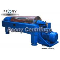 Buy cheap Continuous Ceramic Decanter Centrifuges 2 Phase Horizontal Centrifuge Decanter Separator from wholesalers