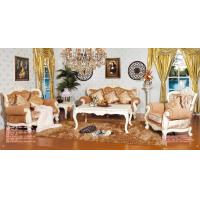 Buy cheap Real Wood Frame Velvet Upholstered Sofa Victorian Vintage Style Living Room Furniture from wholesalers