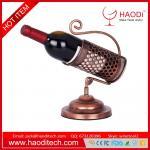 Buy cheap Wine Bottle Holder Kitchen Decoration Display Metal Mounted Handmade Racks from wholesalers