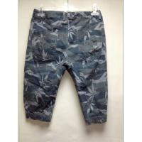 Buy cheap Cotton Fabric Plaid Mens Camo Cargo Lounge Pants , Mens Casual Trousers product