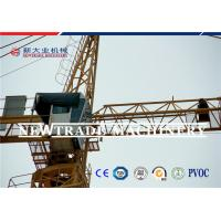 Buy cheap Traveling And Moving Construction Tower Crane , 10 Ton Flat Top Tower Crane from wholesalers