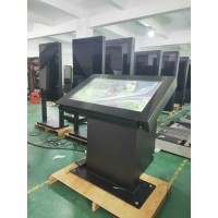 Buy cheap Floor Standing PCPA Touch Outdoor LCD Totem Ergonomic 55in AC100~240V from wholesalers