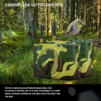Buy cheap Russia camouflage color outdoor sport speaker with remote control from wholesalers
