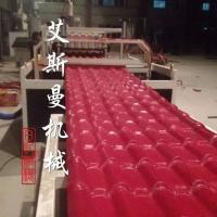 China Replace ceramic tile - PVC Glazed Tile Roof Roll Forming Machine for Plastic Colorful Roofing on sale