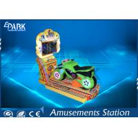 Buy cheap LCD Screen 3d Video Kiddy Ride Machine Simulate Real Driving Feeling from wholesalers