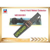 Buy cheap Bulk wholesale Scanner Portable Security check Hand held detector from wholesalers