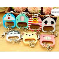 Buy cheap promotional soft silicone key chain ,carton keychain from wholesalers
