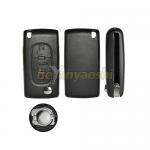 Buy cheap PSA 3 Button Flip Key , Lock / Unlock Folding Remote Key Broken Proof from wholesalers