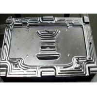 Buy cheap S50C Steel Material Plastic injection mould Fisker cluster front face main cosmetic part from wholesalers