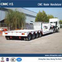 Buy cheap 100 tons gooseneck detachable front loading lowboy trailer from wholesalers