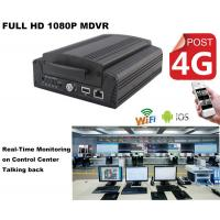 Buy cheap Full HD1080P Car DVR 4Ch Hard Drive H.264 MDVR Real Time GPS Tracking On Android product