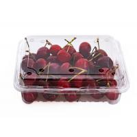 Buy cheap High Clear Cherry Box Disposable Plastic Fruit containers from wholesalers