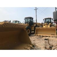 Buy cheap 990h 9 Ton Wheel Used Cat Loaders Cummins Qsm11 Engine 9459 * 3579 * 3821mm from wholesalers