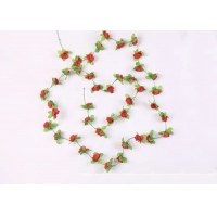 Buy cheap Home Party 32 Heads 200cm Mini Artificial Flowers String from wholesalers