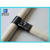 Buy cheap Adjustable Metal Joint for Pipe Rack , Thickness 23mm  T-Type Black Tubing Joint HJ-1 from wholesalers