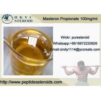 Buy cheap Customized Premade Injectable Anabolic Steroids Oil Masteron Propionate 100mg/ml product