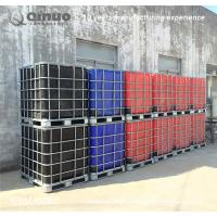 Buy cheap Recycling 1000 litre chemical storage totes HDPE IBC tank bulk liquid storage containers from wholesalers