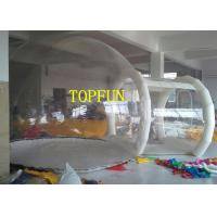 Buy cheap Transparent 0.8mm PVC Inflatable Bubble Tent With Tunnel For Exhibition from wholesalers