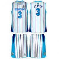 Buy cheap Unisex Light Weight Sublimated Basketball Clothes Embroidery Printing from wholesalers