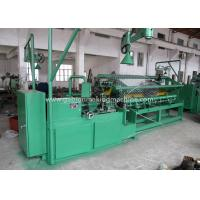 Buy cheap Industry Chain Link Fence Machine / Automatic Diamond Mesh Machine For Airport / Port from wholesalers