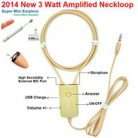 Buy cheap 2014 NEW 3 Watt Amplified Inductive Neckloop can work with Magnetic Micro earpiece from wholesalers