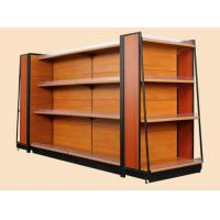 Attractive Shop Display Equipment Supermarket Display Shelving With Light Box