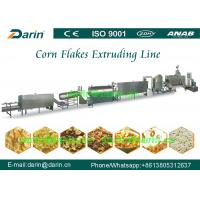 Buy cheap Commercial Corn flakes making machine / Corn Chips snack food extruder Production Line from wholesalers